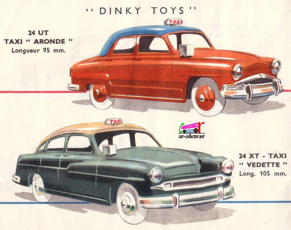 CATALOGUE DINKY TOYS 1956