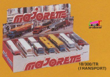 CATALOGUE MAJORETTE 1981