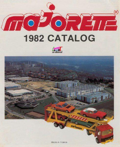 CATALOGUE MAJORETTE 1982