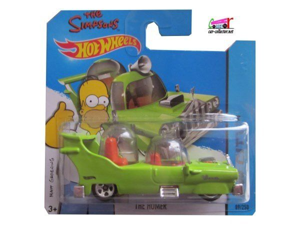 THE HOMER SIMPSONS HOT WHEELS 1/64