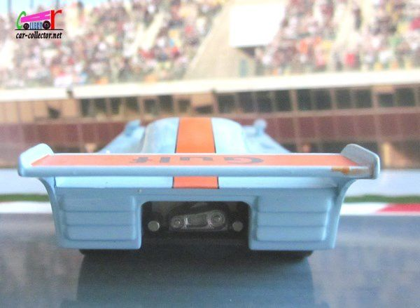 FASCICULE N°9 GULF MIRAGE GR-8 1975 ICKX / BELL BARQUETTE IXO 1/43
