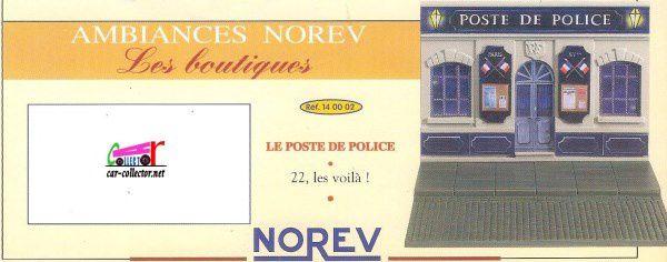 FICHE CATALOGUE NOREV 1998