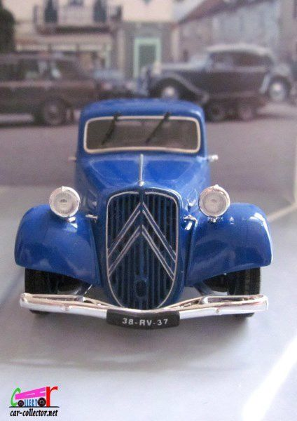 FASCICULE N°20 CITROEN TRACTION 11B COUPE 1938 UNIVERSAL HOBBIES 1/43