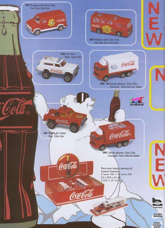 CATALOGUE MAJORETTE 1997