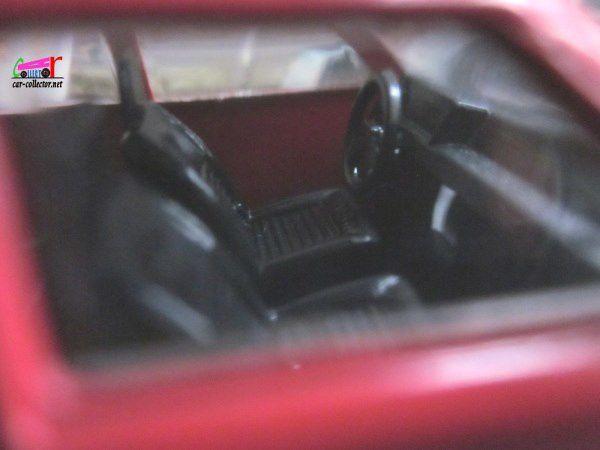 FASCICULE N°136 FIAT RITMO ROUGE 1978 SOLIDO 1/43