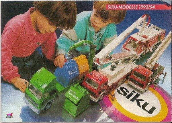 CATALOGUE SIKU 1993 / 1994 - KATALOG SIKU 1993/1994