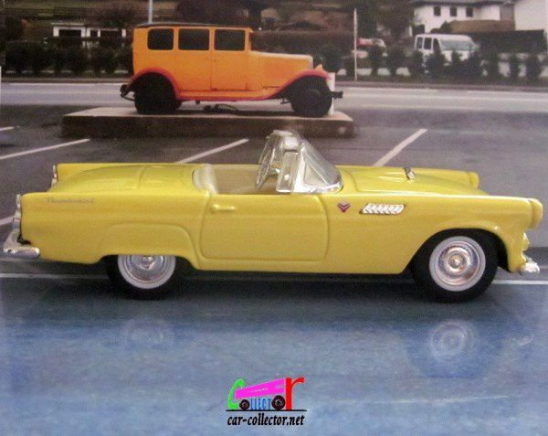FASCICULE N°7 FORD THUNDERBIRD CONVERTIBLE 1955 T-BIRD