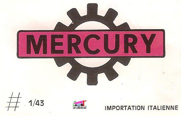 CATALOGUE MERCURY 1966