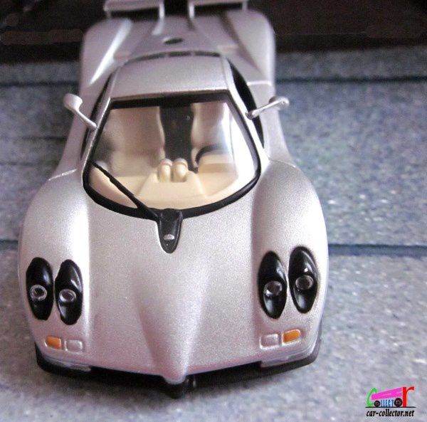 FASCICULE N°16 PAGANI ZONDA C12S IXO 1/43 COLLECTION VOITURES DE REVE ALTAYA