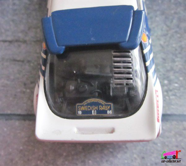 FASCICULE N°37 FORD RS 200 1986 SWEDEN RALLY IXO 1/43
