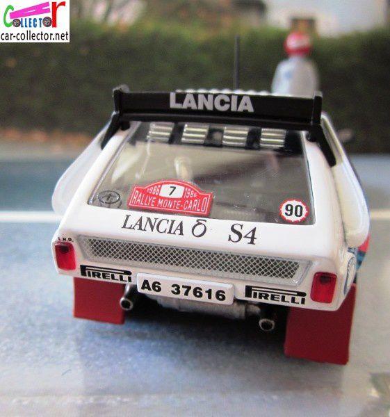 FASCICULE N°36 LANCIA DELTA S4 MONTE CARLO 1986 HENRI TOIVONEN SERGIO CRESTO