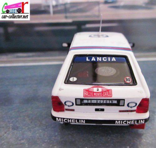 FASCICULE N°50 LANCIA DELTA HF 4WD RALLYE MONTE CARLO BRUNO SABY ET J.F FAUCHILLE