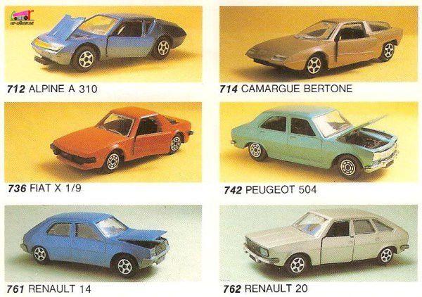 CATALOGUE NOREV 1982 - DEPLIANT NOREV 1982