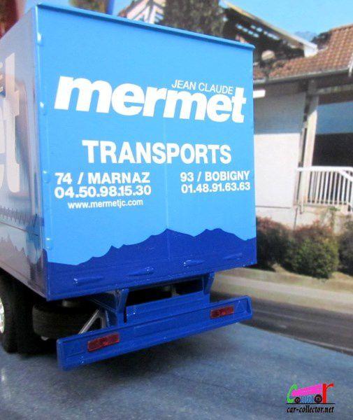 CAMION RENAULT MAGNUM 480 TRANSPORTS JEAN CLAUDE MERMET MARNAZ ELIGOR 1/43