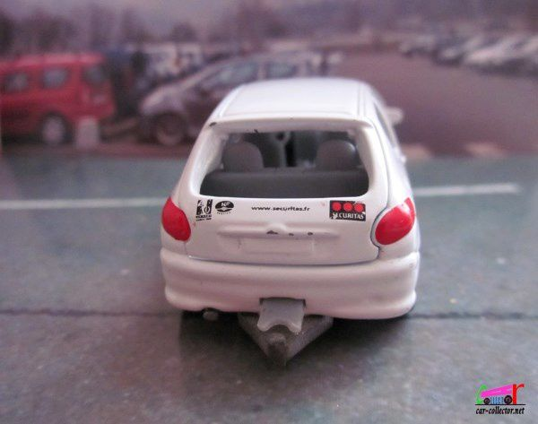 PEUGEOT 206 SOCIETE SECURITAS NOREV 3 INCHES SURVEILLANCE INTERVENTIONS