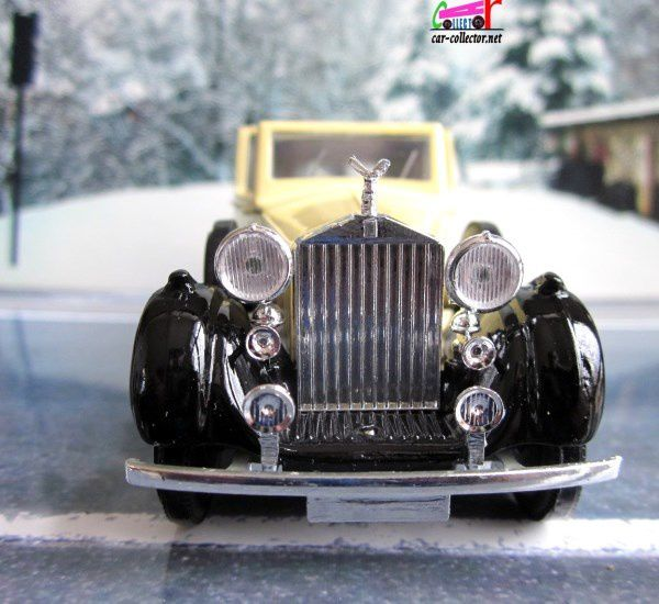ROLLS-ROYCE PHANTOM III 1939 ORSON WELLES SOLIDO SIGNATURE 1/43