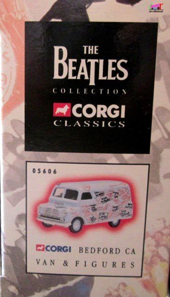 VAN BEDFORD 10/12 CWT GROUPE DE ROCK BEATLES CORGI 1/50