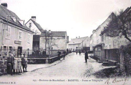 carte envoyée en mars 1905.