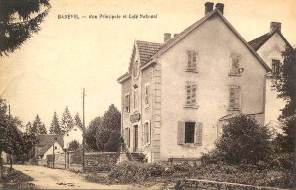 CARTES POSTALES ANCIENNES DE BADEVEL (25) DOUBS - CPA BADEVEL - CPABAD