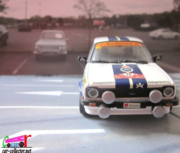 FORD FIESTA RALLYE MONTE CARLO 1977 DETAILCARS 1/43