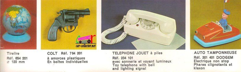 CATALOGUE JOUETS MONT-BLANC RUMILLY (74) 1969