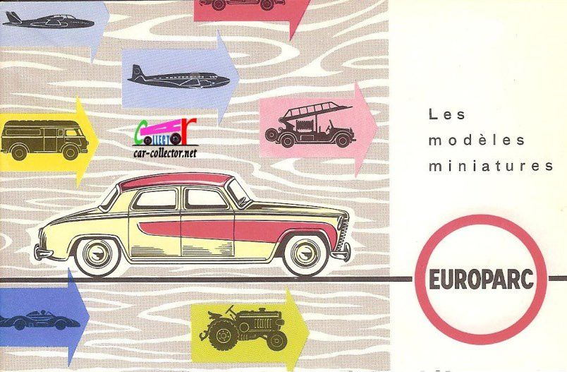 CATALOGUE C.I.J 1960 - CATALOGUE EUROPARC 1960