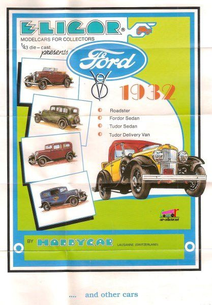 CATALOGUE FORD ELIGOR 1983 - CATALOG FORD ELIGOR 1983