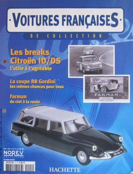 FASCICULE N°22 CITROEN DS ID BREAK 1967 NOREV 1/43