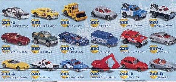 CATALOGUE MAJORETTE JAPON 2002