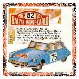Un modèle que l'on retrouve dans une boîte cadeau (réf:38) aux côtés de la Mini-Cooper victorieuse de Timo Makinen et d'une Rover 2000.