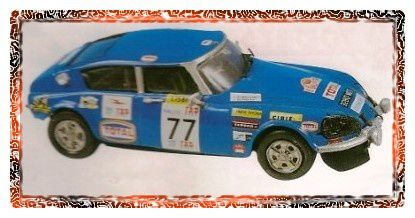 Kit Ceven kit, rallye du Portugal 1969, réf: 8