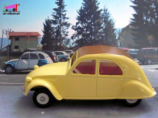 fascicule n u00b02 citroen 2cv modele 61 dinky toys reproduction atlas