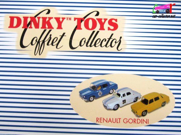 COFFRET COLLECTOR GORDINI R8 R8S DAUPHINE 1093 DINKY TOYS REEDITION ATLAS