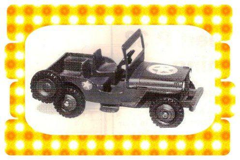 Jeep US Army 25 YM ou 669