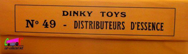 COFFRET DE 5 DISTRIBUTEURS D'ESSENCE DINKY TOYS REEDITION ATLAS