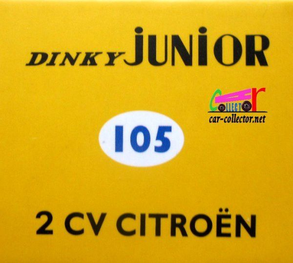 CITROEN 2CV DINKY TOYS REEDITION ATLAS 1/43