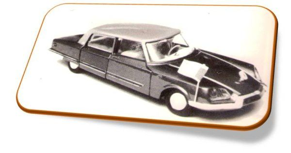 DOCUMENT: LES CITROEN DS EN MINIATURES