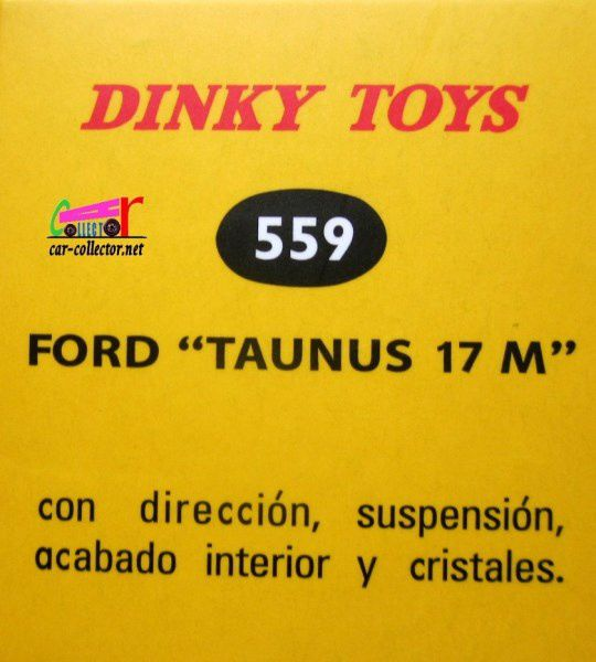 COFFRET COLLECTOR SOUVENIRS D'ESPAGNE FORD TAUNUS 17M BMW 1500 DINKY TOYS REEDITION ATLAS 1/43