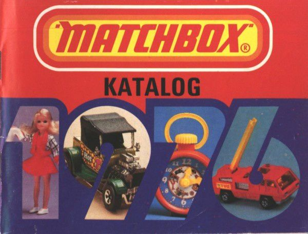 CATALOGUE MATCHBOX ANNEE 1976 ALLEMAGNE MATCHBOX KATALOG