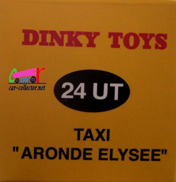 COFFRET COLLECTOR LES TAXIS DE POISSY ARONDE ELYSEE FORD VEDETTE DINKY TOYS REEDITION ATLAS 1/43