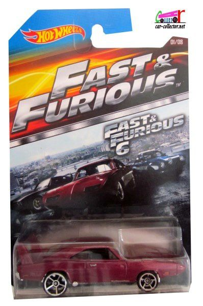69 DODGE CHARGER DAYTONA FAST AND FURIOUS 6 HOT WHEELS 1/64