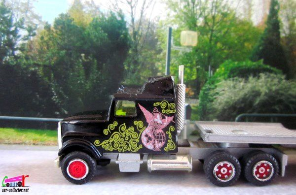 613-A KENWORTH SEMI TRANSPORT HORS BORD MAJORETTE 1/87