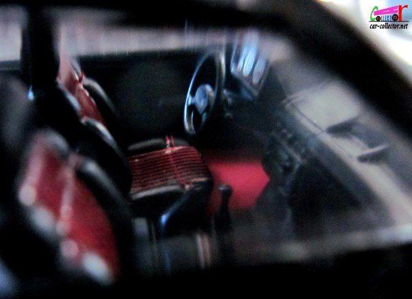 FASCICULE N°4 PEUGEOT 205 GTI NOIRE 1/43