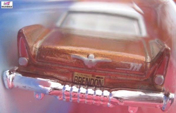 57 PLYMOUTH FURY HOT WHEELS 1/64