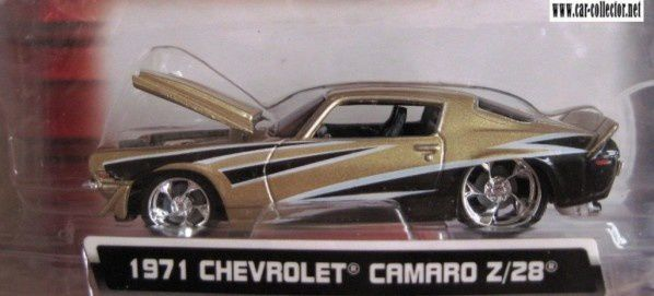 CHEVROLET CAMARO Z/28 1971 CUSTOM SHOP MAISTO 1/64