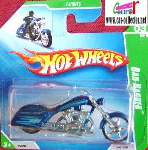 MOTO BAD BAGGER HOT WHEELS 1/64