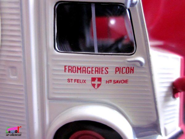 FASCICULE N°3 CITROEN TYPE H FROMAGE MERE PICON IXO 1/43