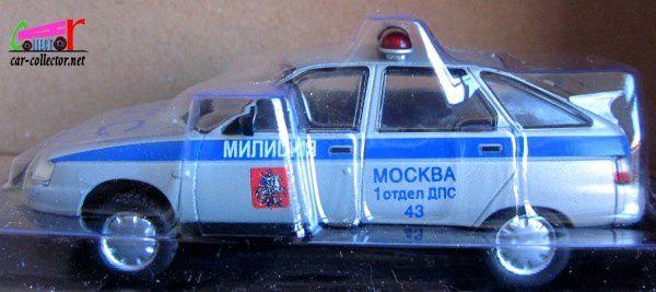 FASCICULE N°10 LADA 112 POLICE RUSSE 1/43