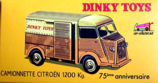 COFFRET COLLECTOR 75ème ANNIVERSAIRE DINKY TOYS REEDITION ATLAS 1/43