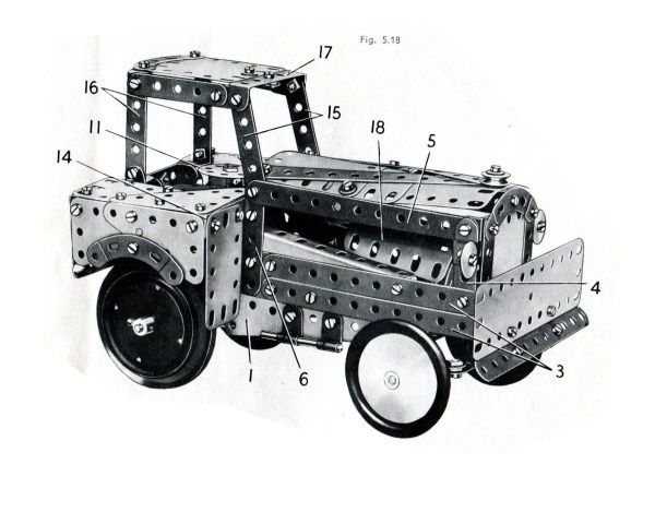 CATALOGUE MECCANO 1957